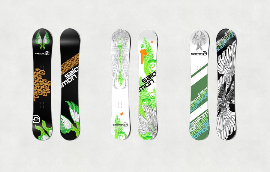 Snowboards – Christina Jung